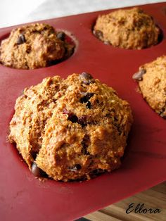 Muffin Recipes, Baking Recipes, Dessert Weight Watchers, Donuts, Food 101, Ww Desserts, Healthy Deserts, Healthy Food, Breakfast Muffins