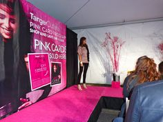 The #PinkPartini event, which combines fashion, fun and a great cause, took place at #TangerOutlet in #WisconsinDells this past October and hopefully will become a yearly event to raise money for breast cancer