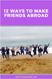 Are you wondering how to make friends abroad in your new city? Check out Wien Queen's 12 Ways to Make Friends Abroad. Travel Checklist, Travel Advice, Travel Tips, Travel Hacks, Best Flight Deals, New City, Trip Planning, How To Plan, How To Make