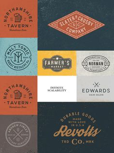 Logo/Badge Templates Minimal Logo Design, Best Logo Design, Badge Template, Best Photoshop Actions, Beer Company, Home Brewing Beer, Patch Design, How To Make Logo, Logo Maker