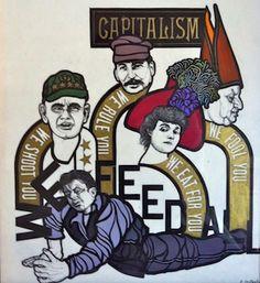 Flavio Costantini #illustrazione #arte #grafica #politica #storia