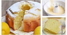 Si preparar senza bilancia questo ciambellone facilissimo e profumato di limone!