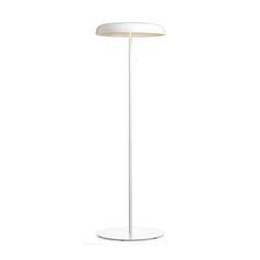 Mushroom+Gulvlampe+Høy,+hvit,+Örsjö+Belysning