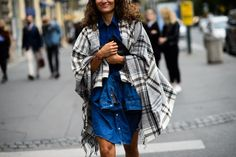 See all the playful prints and other street style looks from Prague Fashion Week on wmag.com.