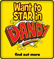 Promotion for ShakeAway customers to star in a Dandy comic strip - February 2012