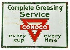 Conoco Sign