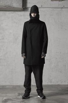 The Viridi-anne Coating Wool Melton High Neck Coat 02