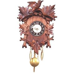 1251QpEngstler Christmas Decor BatteryOperated Clock  Mini Size  5H X 425W X 275D >>> Check out this great product.