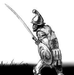 Thracian Infantry Iron Age, Roman Armor, Ancient Armor, Hellenistic Period, Greek Warrior, Trojan War, Roman History, Historical Art, Interesting History