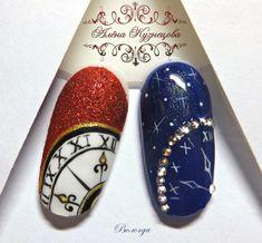 Installation of acrylic or gel nails - My Nails Nail Art Noel, Xmas Nails, New Year's Nails, Toe Nail Art, Christmas Nail Art, Holiday Nails, Christmas Toes, Disney Acrylic Nails, Disney Nails