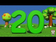 Sayılar | 1 den 20 e Kadar Türkçe Sayılar | 3D Animasyonlu Çocuk Şarkıları | Mini Baykuş - YouTube