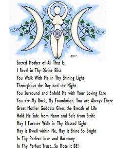 Goddess Bless #Wicca