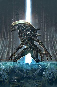 Alien Vs Predator, Predator Movie, Alien Movies In Order, Alien Covenant Movie, Prometheus Movie, Giger Alien, Alien Isolation, Alien Queen, Alien Concept Art