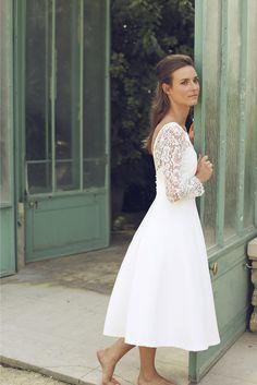 Les robes de mariée d'Élodie Michaud - Collection 2016 | Photographe : Alice Lemarin | Donne-moi ta main - Blog mariage