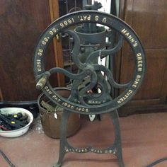 $695 Cast Iron, It Cast, Ioi, Mall, Plates, Canning, Antiques, Green, Licence Plates