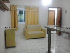 Kitnet para Locação na cidade de Praia Grande / SP no bairro OCIAN, 1 dormitório, 1 banheiro, 1 garagem
