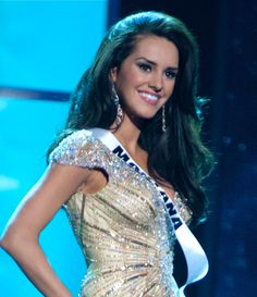 Autumn did indeed look stunning... this gown was amazing live on stage! http://www.pageantupdate.info/photoarchives/miss/2012/prelimgown.htm /Love this custom beaded gown at Miss USA