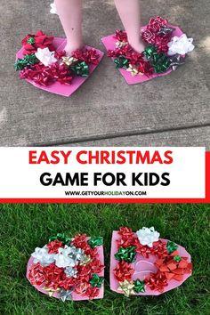 Fun Christmas games for kids #motherhood #Christmas #jolly #fun