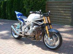Muscle Bikes - Page 120 - Custom Fighters - Custom Streetfighter Motorcycle Forum Street Fighter Motorcycle, Honda Cbx, Custom Sport Bikes, Honda Bikes, Ducati, Vehicles, Motorcycles, Wheels, Muscle