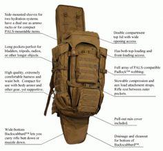 Eberlestock Operator Military Green Backpack for sale online Survival Supplies, Survival Prepping, Emergency Preparedness, Survival Gear, Survival Skills, Survival Stuff, Outdoor Survival, Green Backpacks, 72 Hour Kits