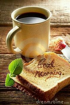 Photo about Coffee beverage wishing you a very pleasant good morning. Image of dish, wooden, drink - 22777933 Good Morning Coffee, Good Morning Sunshine, Good Morning Friends, Good Morning Greetings, Good Morning Good Night, Good Morning Wishes, Good Morning Images, Good Morning Quotes, Coffee Break