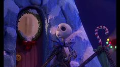 jack scarecrow from the nightmare before Christmas singing what's this upon seeing snow for the firs time from youtube