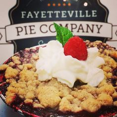 "Tell us about your place: ""Every culture has a pie, and we are a unique local option in Fayetteville,"" said Justin Pearson, owner of Fayetteville Pie Company."