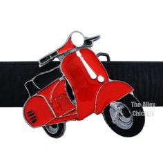 Lil Red Scooter Belt Buckle