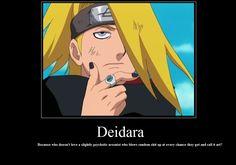 Deidara - Naruto Shippuden