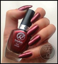Hello Lovelies, how are you? I have another Roby Nails, Nail Dress Polish to show you. You can see more polishes from Nail Dress line on p. Brown Betty, Nail Polish Brands, Nail Polish Collection, Professional Nails, Blue, Nailed It