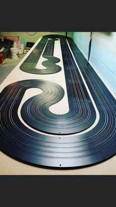 Slot Car Race Track, Ho Slot Cars, Slot Car Racing, Race Tracks, Slot Car Tracks, Kart Parts, Viper, Cnc