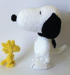 Ravelry: Snoopy Inspired Dog Amigurumi pattern by Amanda L. Girão