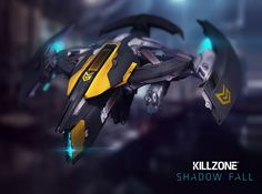 Killzone owl or earthquake Guardian ,in the game killzone shadow fall it constantly proves its use fullness to non pro players by bringing them back to life over and over Killzone Shadow Fall, Fall Owl, Sci Fi Armor, Sci Fi Ships, Robot Concept Art, Science Fiction Art, Destiny, Military, Artwork