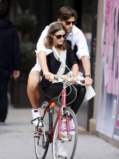 Perfect look of Olivia Palermo and her boyfriend.