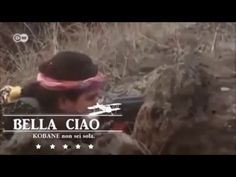 Bella ciao cantate dalla donne di Kobane - YouTube