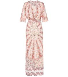 ETRO Printed Maxi Dress. #etro #cloth #dresses