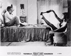 photo Sophia Loren Marcello Mastroianni film Yesterday Today & Tomorrow 2909b-17