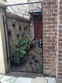 Savannah courtyard gate