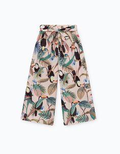 Lefties - pantalón culotte print - 0-046 - 01923315-V2017