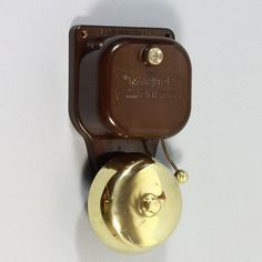 A fully tested and working electric bell with genuine Bakelite case and body and solid brass bell. Loud ring. Tested at low voltage (8 volts) suitable for use with all low voltage bell transformers supplying between 4 and 12 volts. Some surface character to the top edge of the bell backplate which will be unseen when installed. Transformer should be installed by suitably qualified electrician. Check out our low voltage bell pushes in the Bells etc category