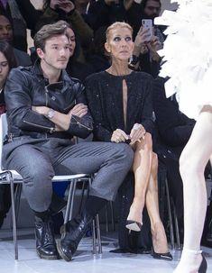 Céline Dion et Pepe Munoz au défilé Alexandre Vauthier Celine Dion, La Fashion Week, Alexandre Vauthier, Paris, Singers, People, Dance, Stylish, Women