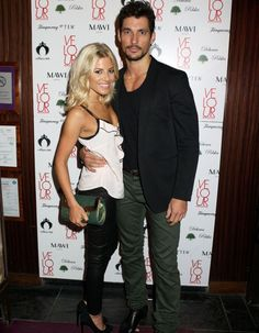 The real Eva and Gideon aka Molly King and David Gandy