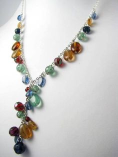 Multicolored Necklac Glorious SALE use coupon code by Suwanee, $25.00