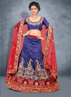 Everyone will admire you when you wear this clad to elegant affairs. Be an angel and create a smashing impact on everyone by wearing this pink and beige net lehenga choli. This beautiful attire is sho...
