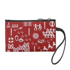 The People's Story Red Change Purses