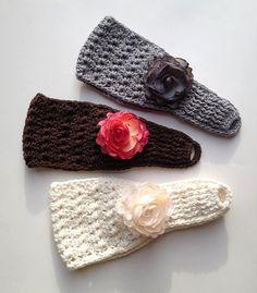 Crochet patrón para Star puntada Earwarmer por crochetbyjennifer