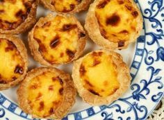 ES guest writer Faith brings us the food travel lowdown on the savory land that is Portugal. From freshly caught grilled sardines and salted dried cod dishes to Welsh Recipes, Portuguese Recipes, Portuguese Tarts, Natas Recipe, Cod Dishes, Custard Tart, Savory Pastry, Street Food, Flan