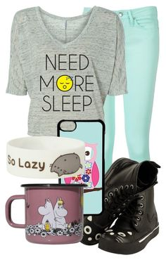 """""""Don't punch a cow"""" by nikikaren ❤ liked on Polyvore featuring Tommy Hilfiger, CellPowerCases and Muurla"""