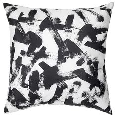 Discover our affordable range of cushions. Find everything from inner cushions, modern cushions and more at IKEA. Cushions Ikea, Modern Cushions, Ikea Sofa, Black Cushions, Sofa Pillow Covers, Couch Pillows, Cushion Covers, Pillow Set, Couches