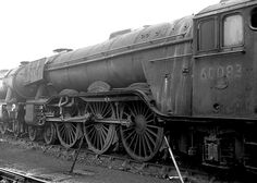 York Shed. 18 January By this date the were very run down and on the verge of being scrapped. This one met its fate in May Photo: ricsrailpics Live Steam Locomotive, Diesel Locomotive, Steam Trains Uk, Transport Images, Flying Scotsman, Old Wagons, Abandoned Train, Steam Railway, British Rail